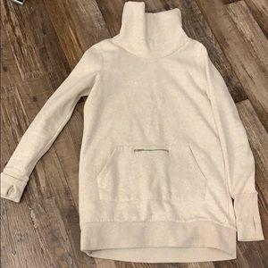 Fabletics tunic cowl neck sweatshirt